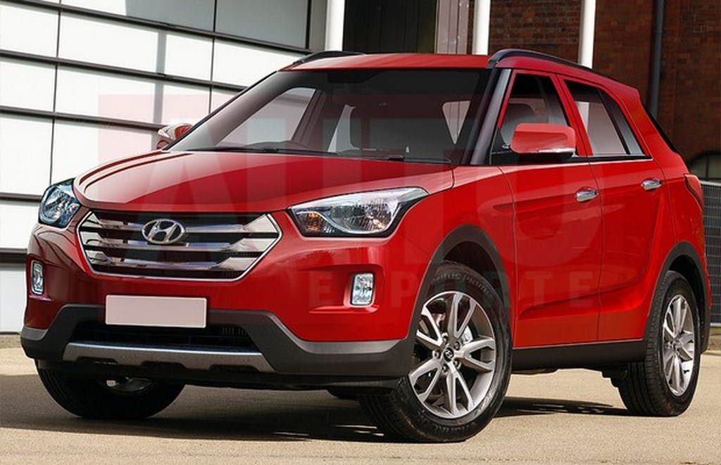Hyundai's Upcoming SUV A Mini Santa Fe - TheMech.in