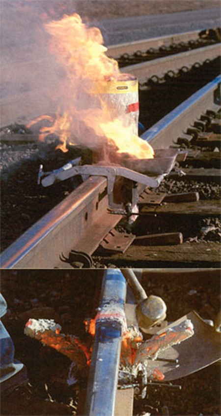 Thermit Welding Rail Alumino Thermic Welding Thermite