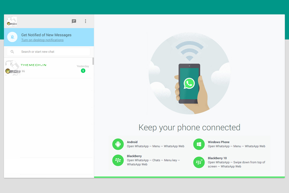 WhatsApp Announces It's Desktop Version